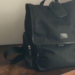 Black Coach Leatherware backpack